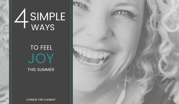 4 ways to feel joy this summer
