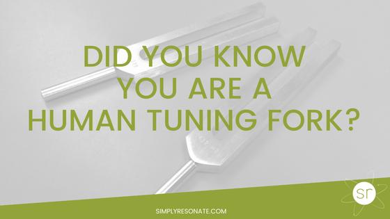 human tuning fork
