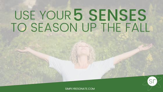 5 senses season the fall