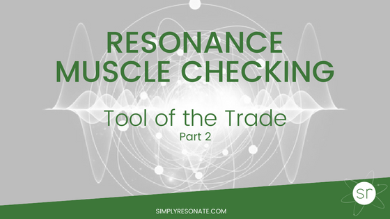 resonance muscle checking, part 2