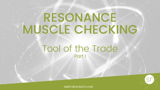 resonance muscle checking